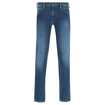 Emporio Armani J10 Extra Slim Fit Blue Jeans