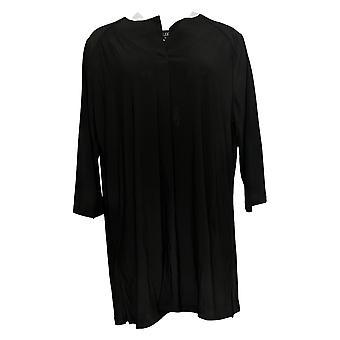 المواقف من قبل رينيه المرأة & apos;ق أعلى 3/4 الأكمام سترة W/ جيوب الأسود A301309