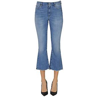 Atelier Cigala's Ezgl457035 Damen's Hellblau Cotton Jeans