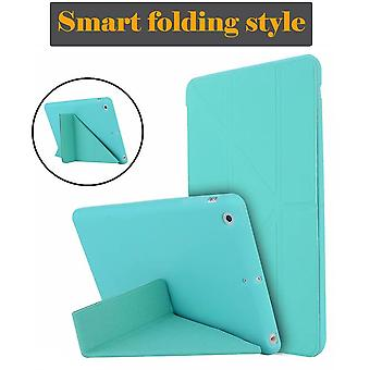 Étui pour Ipad Mini 5 4 3 2 Case Pu Leather Silicone Soft Back Cover With Stand
