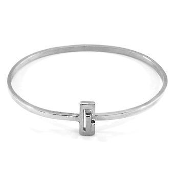 ANKARE & BESÄTTNING Soames Gate Midi Wayfarer Silver Armband