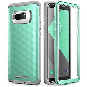Galaxy Note 8 Case, Clayco Hera Series Full-body Rugged Case-MintGreen
