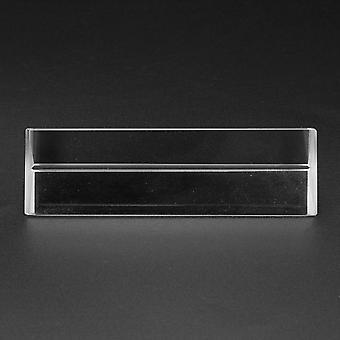 8cm optinen lasi kolminkertainen kolmion muotoinen prisma fysiikka opettaa valon spektriä