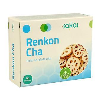 Renkon Cha 60 capsules
