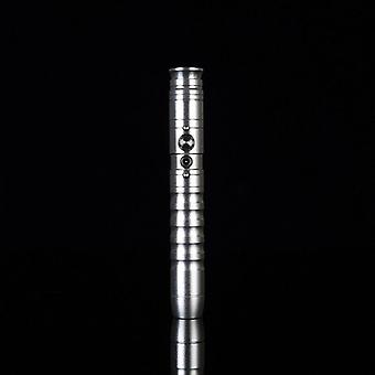 Light Saber Led Blaster Flashing Metal Handle Heavy Dueling Sword Cosplay Giocattolo