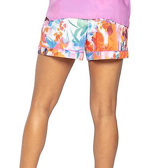 Cyberjammies Aimee 4828 Femme & s White Mix Floral Modal Pyjama Short