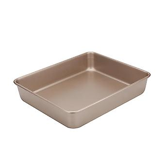 Stackable bakeware set, with non-stick bakeware baking tin, square cake pan for kitchen baking