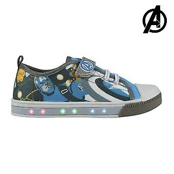 Casual shoes with leds the avengers 72933 blue