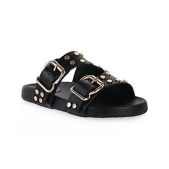Cafe noir n001 slipper 2 sandal buckles
