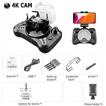 Quadcopter, Mini Pocket Drone With Camera, Flip Headless Mode, Helicopter