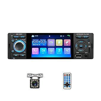 1-din Auto Radio, Jsd-3001/ Mp5- Car Player, Kosketusnäyttö, Stereo Bluetooth,