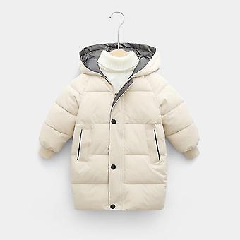 Children Jacket Hooded Down Cotton Thick Warm Parka Outerwear Coat