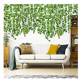 Green Leaves Entangled To Shade Green Plants Simulation Rattan Decoration