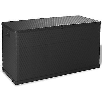 Garden Storage Box Anthracite 120x56x63 Cm