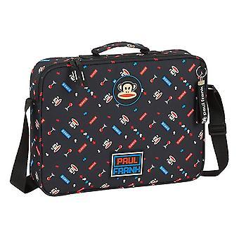 Briefcase Paul Frank Retro Gamer Black (6 L)