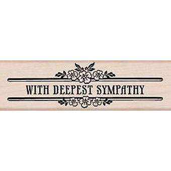 Hero Arts Deepest Sympathy - Wood Mounted Stamps