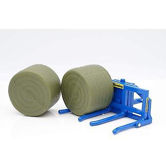 Britains Fleming Double Bale Lifter With Bales 43265  1:32