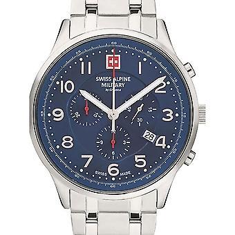 Mens Watch Sveitsisk Militær 7084.9135, Kvarts, 43mm, 10ATM