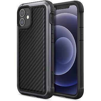 HanFei Raptic Lux Fall kompatibel mit iPhone 12 Mini Fall, Starke langlebige dnne Abdeckung,