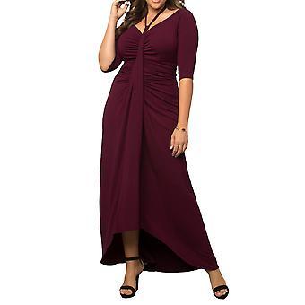 Kiyonna | Divine Draped Maxi Dress