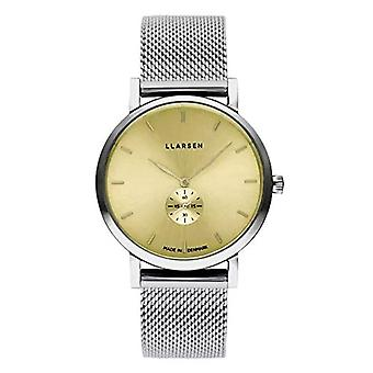 LLARSEN Analogueic Watch Quartz Woman with Stainless Steel Strap 144SYS3-MS3-18