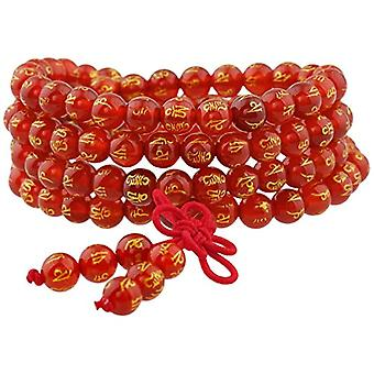 KYEYGWO 108 - Bracelet with Mala prayer pearls for men and women, 6 mm, with Tibetan Buddhist healing stone, unisex, Ref. 0635946998854
