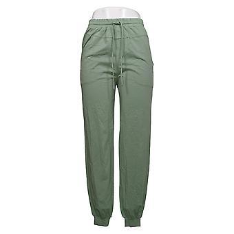 أي شخص السراويل النسائية دافئ متماسكة عداء الأخضر A349795