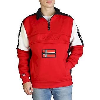 Geographical Norway - Clothing - Sweatshirts - Fagostino007-man-red - Men - Red - S