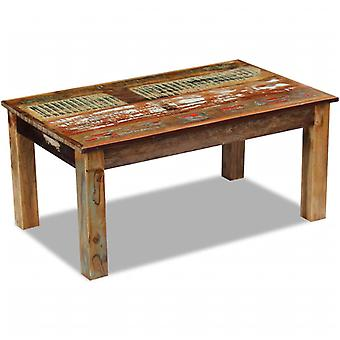 vidaXL Table basse bois 100x60x45 cm