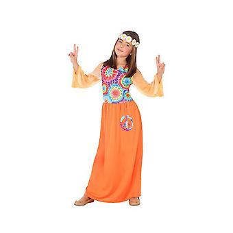 Costume pour enfants Hippie Orange (1 Pc)