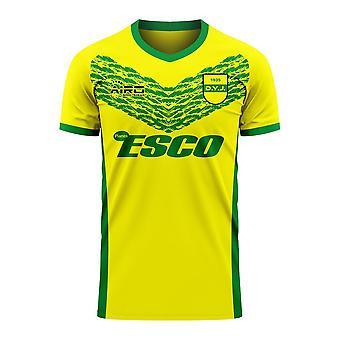 Defensa y Justicia 2020-2021 Home Concept Football Kit (Libero)