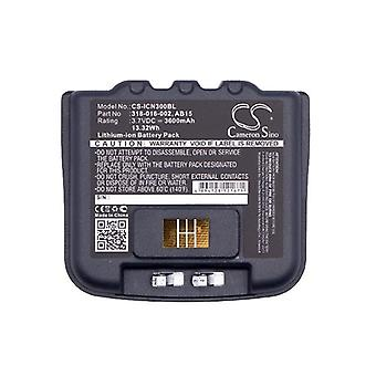 Cameron Sino Icn300Bl Battery Replacement For Intermec Barcode Scanner