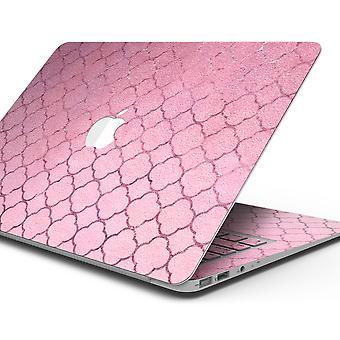Padrão rosa rosa corado - Kit de envoltório de decalque de pele compatível com