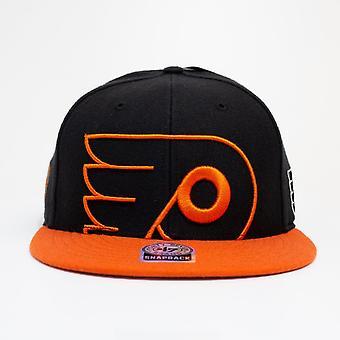 47 Brand Nhl Philadelphia Flyers Large Logo Snapback Cap