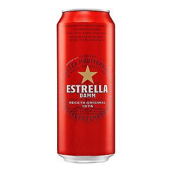 Øl Estrella Damm (50 cl)