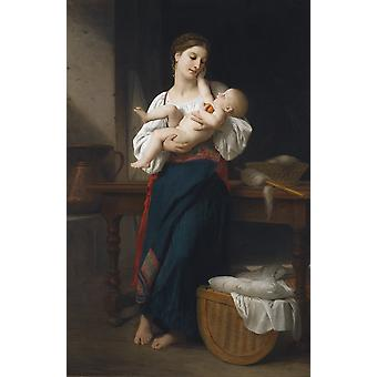 Mother And Child,mother And Child Art Reproduction.neoclassicism Modern Hd Art Print Poster,canvas Prints Wall Art For Home Decor Pictures (unframed)