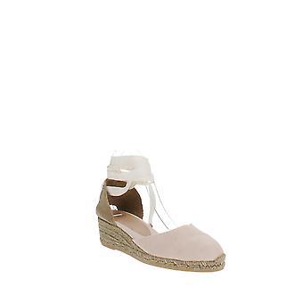 Castaner | Carina Lace-Up Espadrille Wedge Sandals