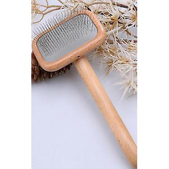 Pet Grooming Comb Wooden Handle Needle Comb For Hair Pet Brush Beauty Brush Dog Accessories