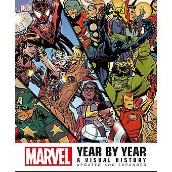 Marvel År for År av Peter Sanderson &Forord av Stan Lee