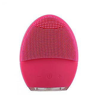 Facial Electric Cleansing Brush, Waterproof Massager And Makeup Tool