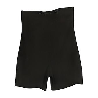 Women's Shaper Mesh Knit High Waist Shaping Bottom Black Shapewear