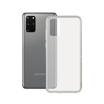 Mobil sag Samsung Galaxy S20 + Kontakt TPU Transparent