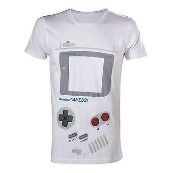 Original Classic Gameboy Interface Extra großes T-Shirt, männlich, weiß