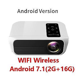 Full Hd הוביל מקרן אנדרואיד נייד תמיכה 1080p -hdmi - 4k עבור מדהים