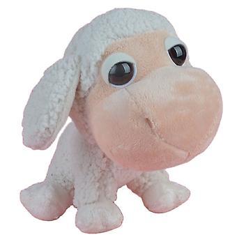 25cm store øyne sau fylt plysj leketøy myk dukke gård dyr lamme jenter baby barn bursdagsgave