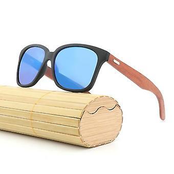 Män Bambu Ben Solglasögon Anti-uv