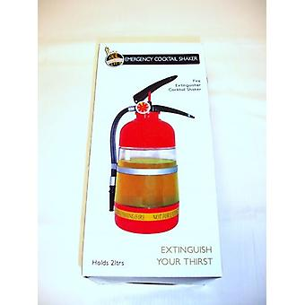 Fire Extinguisher Shaped Cocktail Shaker