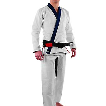 Adidas Stars and Stripes Limited Edition Pearl Weave Gi - White/Navy