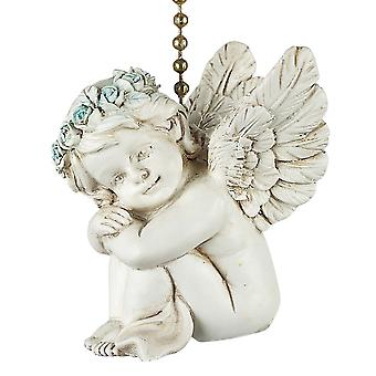 Darling Cherub Decorative Ceiling Fan Light Dimensional Pull Clementine Design