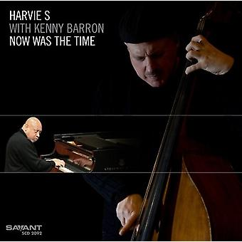 Harvie S/Barron - Now Was the Time [CD] USA import